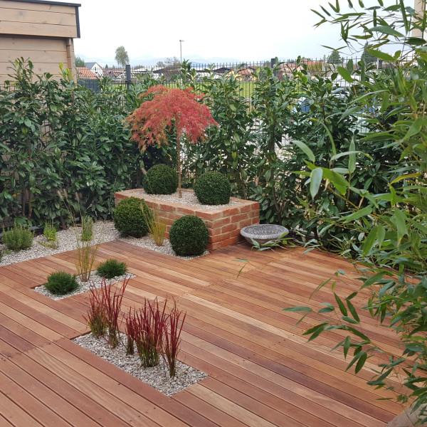 lesena terasa iz sibirskega macesna